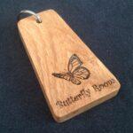 Wood Key Fob