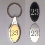 metal keyfobs